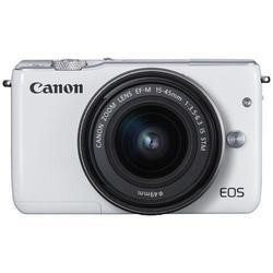 Canon EOS M10 CSC Camera Kit inc 15-45mm Lens White