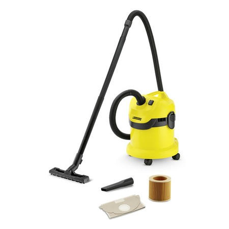 Karcher 1.629-763.0 WD 2 Wet And Dry Vacuum Cleaner - Yellow