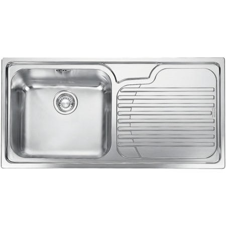 Franke GAX 611 Galassia 1.0 Bowl Stainless Steel Sink With Right Hand Drainer