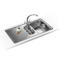 Franke ARX 651P Ariane 1.5 Bowl Left Hand Drainer Stainless Steel Sink