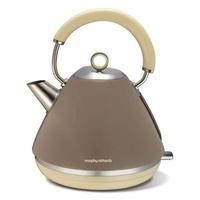 Morphy Richards 102012 Accents 1.5L Pyramid Kettle Barley