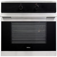 Amica 1053.3X Multifunction Electric Built-in Single Oven With Steam Cleaning - Stainless Steel