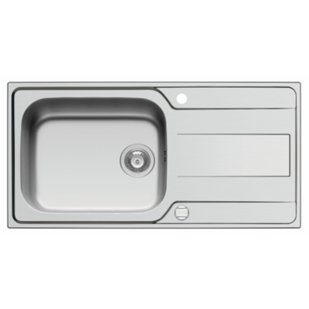 GRADE A1 - Taylor & Moore Cristo Stainless Steel Kitchen Sink 1000 x 500mm