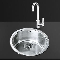 Smeg 10I3P 1.0 Bowl Round Stainless Steel Sink