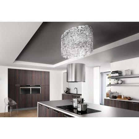 Faber Nest 86cm Island Hood - Stainless Steel/Glass