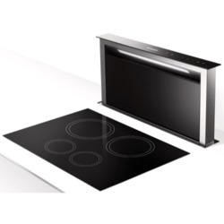 Faber Fabula 90cm Downdraft Extractor - Stainless Steel & Glass