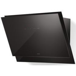 Faber Black Tie 80cm Chimney Cooker Hood Black Glass