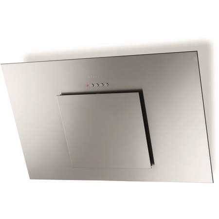 Faber City Stainless Steel 80 80 cm Angled Cooker Hood - Stainless Steel