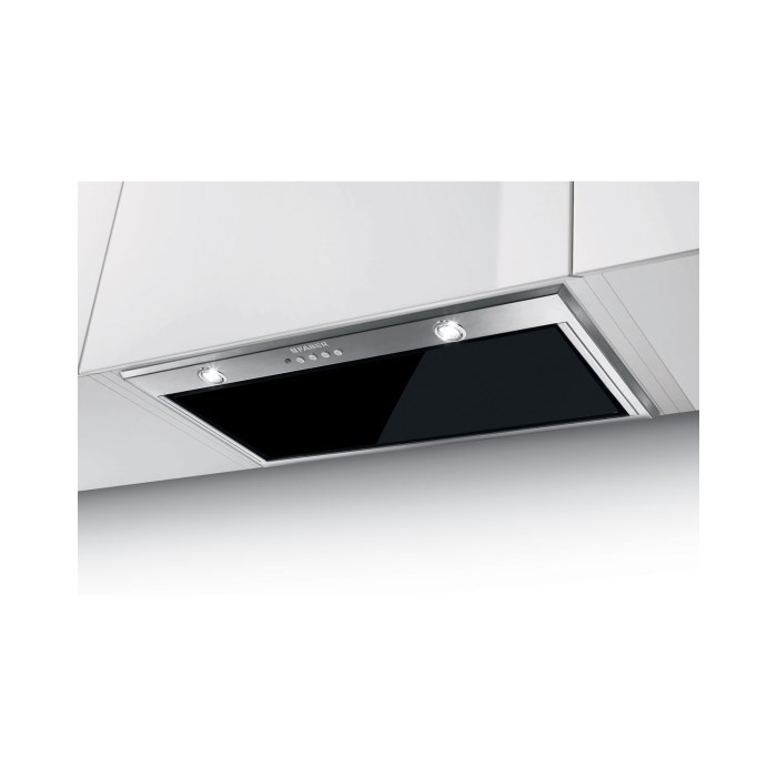 Faber Inca Lux Glass 70- Black 70 cm Canopy Cooker Hood - Stainless ...