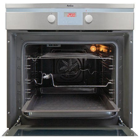 Amica 1143.3TSX Built In Multifunction Fan Oven Stainless Steel