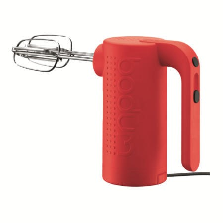 Bodum 11520-294UK Bistro Electric Hand Mixer - Red | Appliances Direct