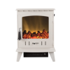 Adam Aviemore Electric Stove in Cream