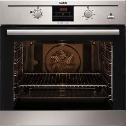 GRADE A2 - AEG BE300362KM COMPETENCE Electric Built-in Oven with SteamBake Function