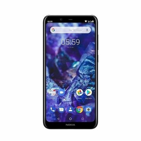 "Nokia 5.1 Plus Black 5.8"" 32GB 4G Unlocked & SIM Free"