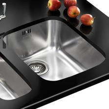 Franke ARX 110 35 Large Bowl Undermount Stainless Steel Sink