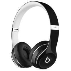 Beats Solo2 On-Ear Headphones Luxe Edition - Black