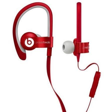Beats Powerbeats 2 In-Ear - Red