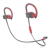 Beats Powerbeats 2 Wireless In-Ear Active Collection - Red
