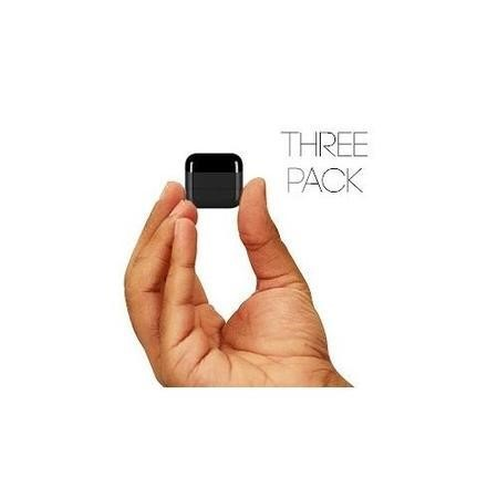 Klikr Universal Bluetooth IR Blaster - Black - 3 Pack - Control IR Devices From Your Smart Device