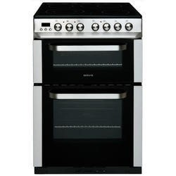 Servis DC60SS 60cm Double Oven Electric Cooker Stainless Steel