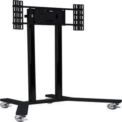 B-Tech BT8504/BB Large Flat Screen Display Trolley Stand for TVs up 65""