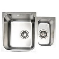 Taylor & Moore Superior 1.5 Bowl Undermount Stainless Steel Sink
