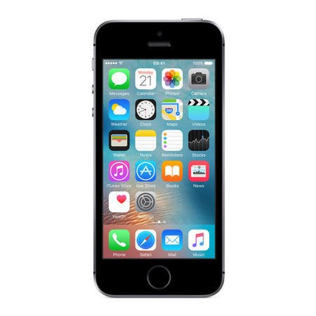 "Apple iPhone SE Space Grey 4"" 16GB 4G Unlocked & SIM Free"