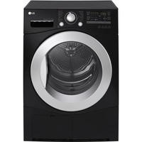 LG RC7066B2Z 7kg Freestanding Sensor Condenser Tumble Dryer Black