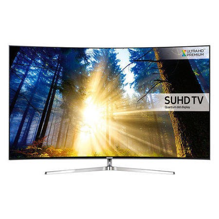 Samsung UE55KS9000 55 Inch Curved SUHD 4K Ultra HD HDR Quantum Dot Smart TV with Freeview HD/Freesat HD
