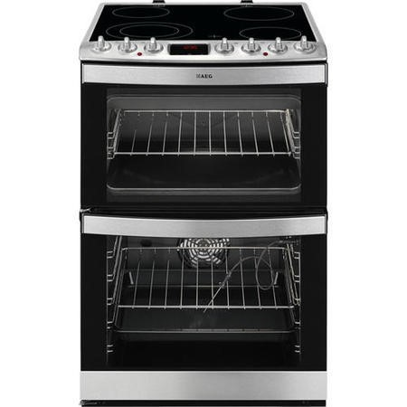 AEG 43172V-MN 60cm Electric Cooker With Ceramic Hob And XXL Fan Oven Stainless Steel