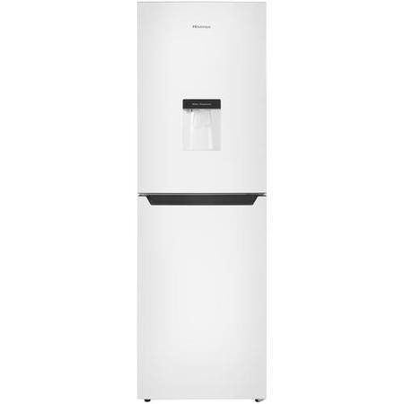 Hisense RB320D4WW1 246L 50/50 Split Freestanding Fridge Freezer - White