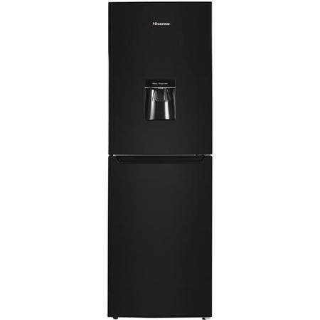 Hisense RB320D4WB1 Freestanding Fridge Freezer With Water Dispenser - Black