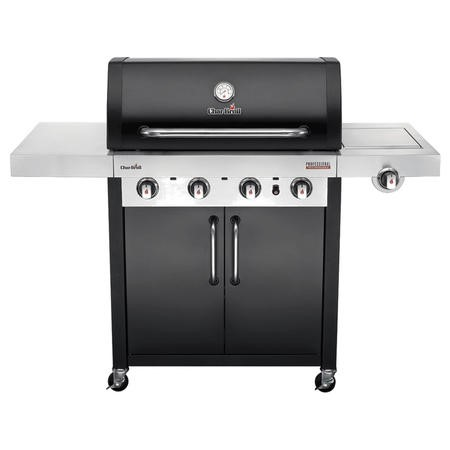 Char-Broil Professional Series 4400B - 4 Burner Gas BBQ with Side Burners