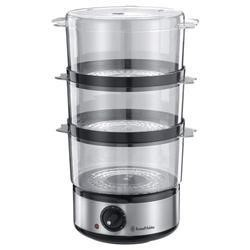 Russell Hobbs 14453 Food Collection 3 Tier Steamer Brushed S/stl