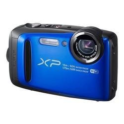 Fuji FinePix XP90 Tough Blue Camera Kit inc 16GB SD Card & Case