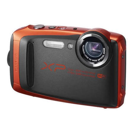 Fuji FinePix XP90 Tough Orange Camera Kit inc 16GB SD Card & Case