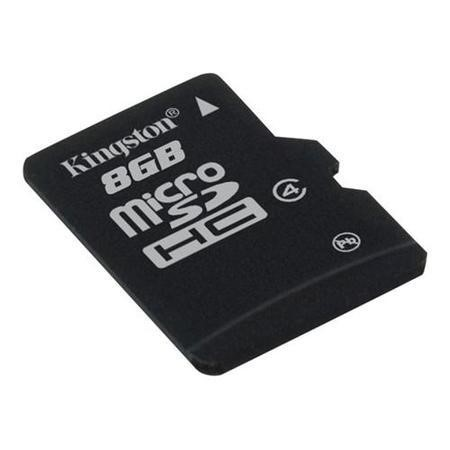 Kingston 8GB MicroSDHC C4 Card No Adp