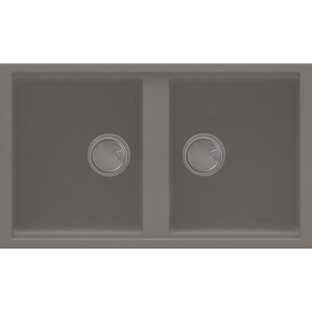 Reginox BEST450-TT 2.0 Bowl Regi-Granite Composite Sink Metaltek Titanium Grey