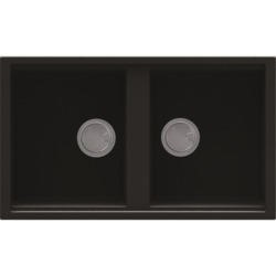 Reginox BEST450-B 2.0 Bowl Regi-Granite Composite Sink Metaltek Black