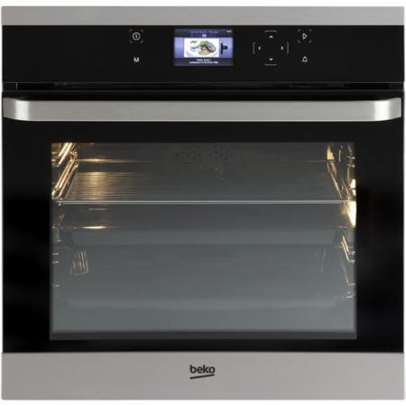 GRADE A1 -  Beko OIM25901X Electric 60cm Single Oven Stainless Steel