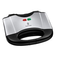 Russell Hobbs 17936 Stainless Steel & Black Sandwich Toaster