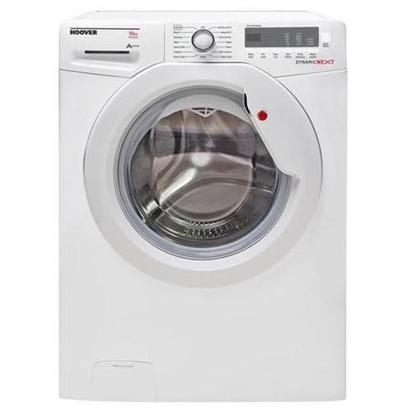 GRADE A2  - Hoover DXC510W3/1-80 DXC510W3 10kg 1500rpm Freestanding Washing Machine White