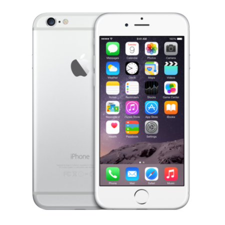 Grade A Apple iPhone 6 Silver 16GB 4G SIM Free