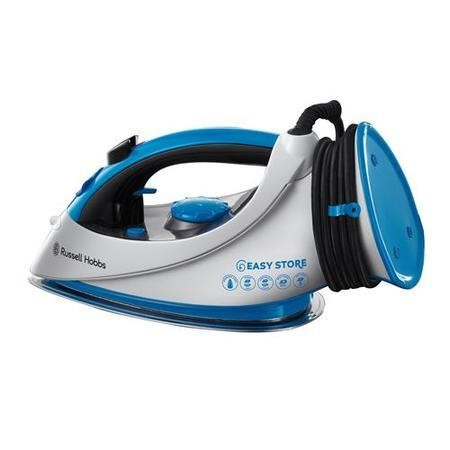 Russell Hobbs 18616 Nov13 2400w Easystore Stn Steel S/plate Steam Iron