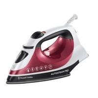 Russell Hobbs 18680 Mm 2400w Non Stick Soleplate Pink Auto Steam Iron