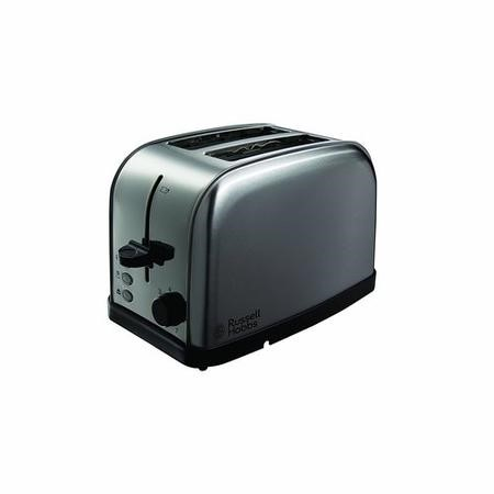 Russell Hobbs 18780 Futura 2 Slice Brushed Stainless Steel Toaster