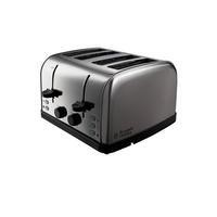 Russell Hobbs 18790 Futura 4 Slice Brushed Stainless Steel Toaster