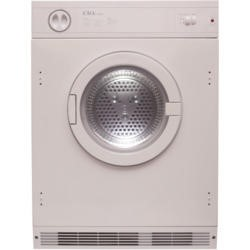 GRADE A3 - Heavy cosmetic damage - CDA CI921 7kg Integrated Vented Tumble Dryer - White