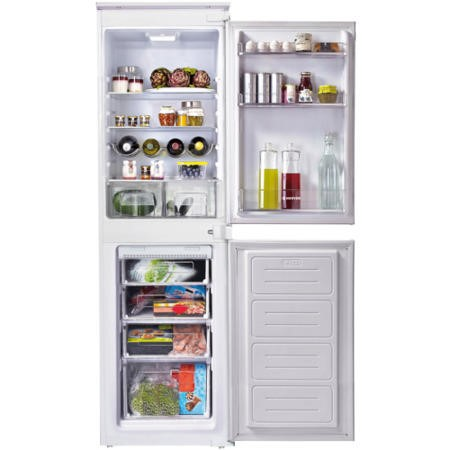 GRADE A2 - Light cosmetic damage - Hoover HFFBP3050/1K HFFBP3050K 50-50 Frost Free Integrated Fridge Freezer
