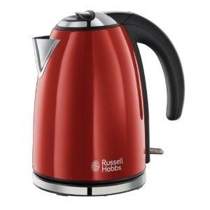 Russell Hobbs 18941 Colours Flame Red Stn Steel 1.7lt Jug Kettle